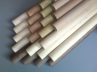 "3/4"" x 24"" OAK DOWELS (#2 GRADE)"